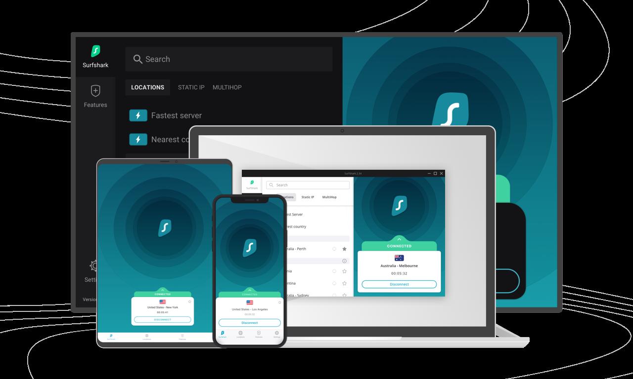 Top 5 Best VPN Apps - SurfShark