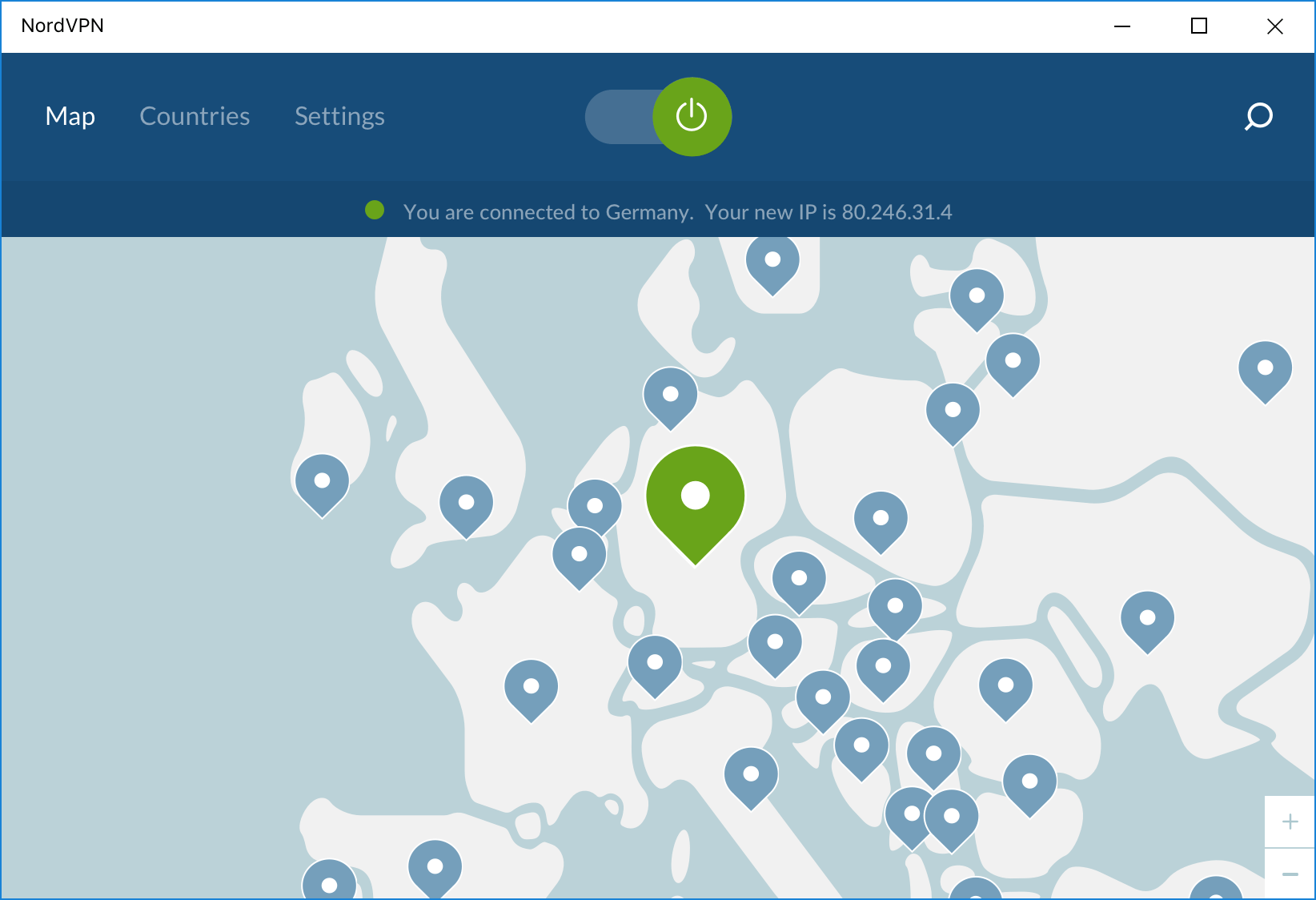 NordVPN in the test: the new old number one?  With NordVPN individual servers can be selected precisely - not a standard among the providers tested.  © NordVPN