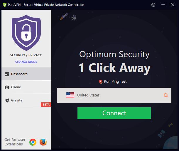 purevpn windows app
